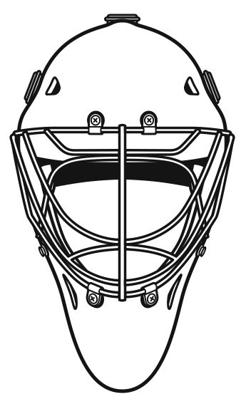 Goalie Mask Clip Art Google Search Goalies Masked Marvels