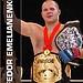 Fedor Emelianenko and Randy Couture, the UFC heavyweight champion.     definate re-pin want ufc training?  here ya go http://howtobeaufcfighter.com