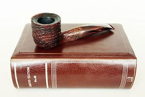 DUNHILL-6106-LIMITED-EDITION-nr-49-SITTER-CHRISTMAS-PIPE-1984-UNSMOKED-BIG-MINT