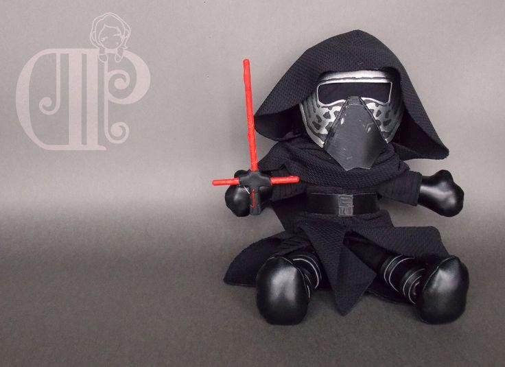 Kylo Ren Star Wars The Force Awakens Plush Doll Plushie Toy by MrDollsyPlushberley on Etsy https://www.etsy.com/listing/261826510/kylo-ren-star-wars-the-force-awakens