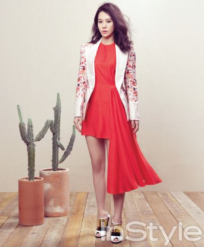 Kim Hyun Joo - InStyle Magazine March Issue '13