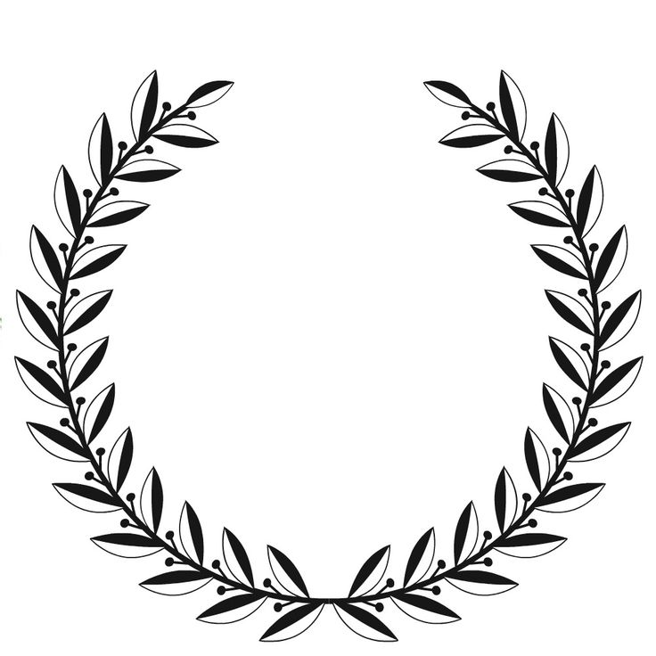 The 25 best laurel wreath ideas on pinterest wreath for Laurel leaf crown template