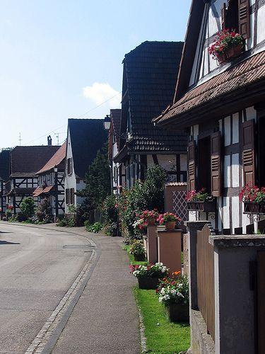 Hunspach, Alsace, France