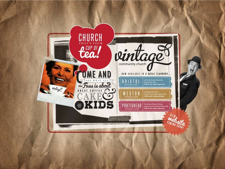 Vintage Community Church, pushes boundaries to reach out to communities across the South West, UK.