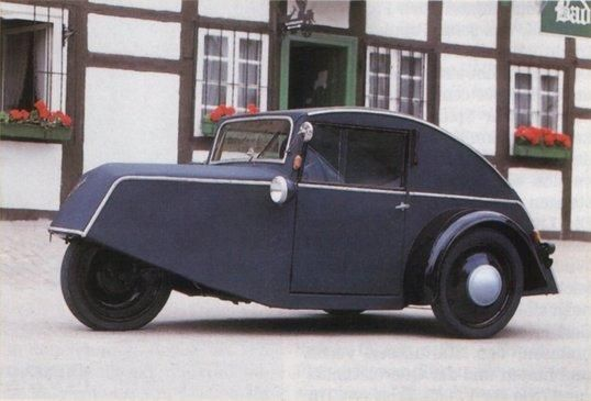 1944 Goliath Pionier - one of the pre-war attempts to create a popular German car.