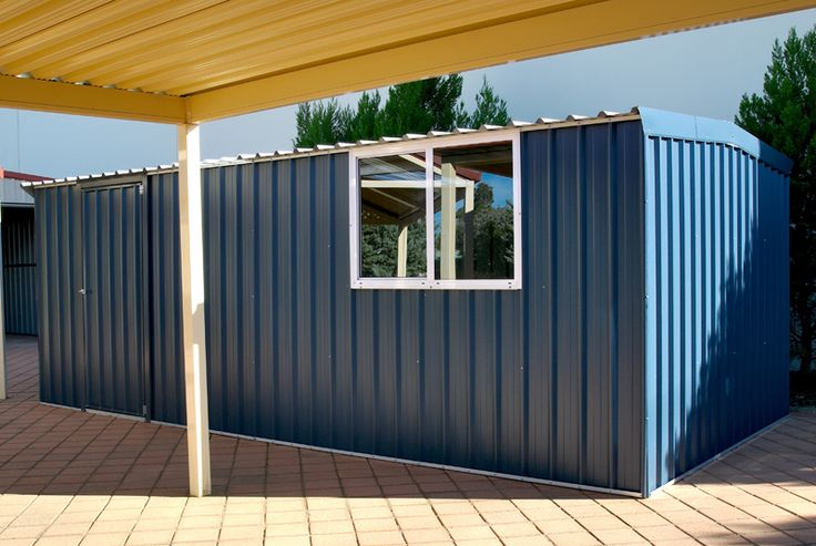 #OutdoorStorage #Sheds #WorkshopDesign #WorkshopIdea #Workshop #Perth #WA http://www.factorydirectwa.com.au/workshops