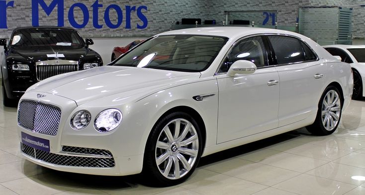 Pics For > Bentley Flying Spur White