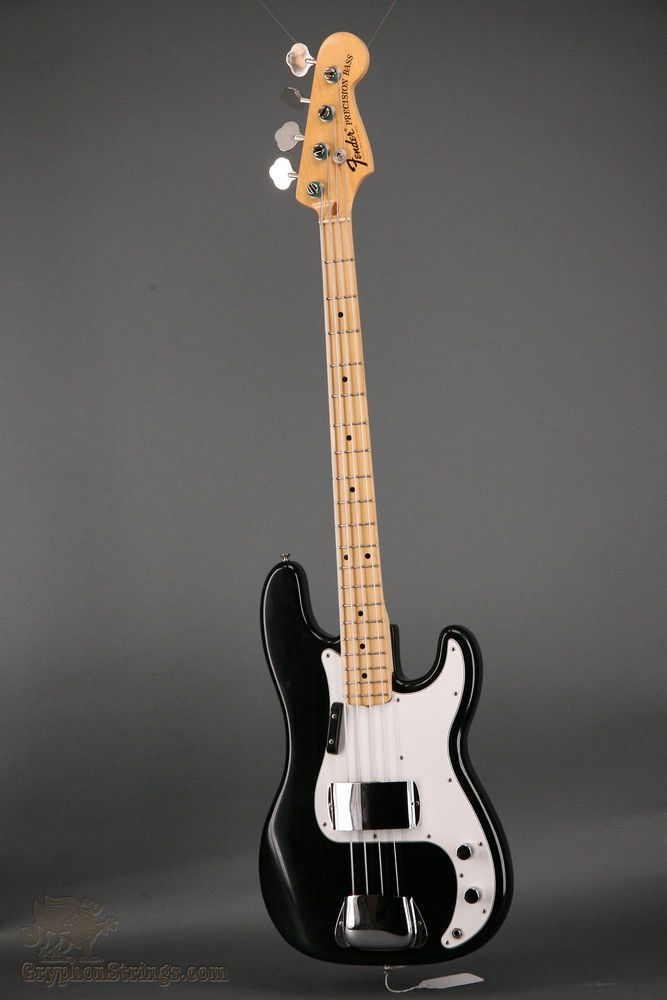 1974 Black With White Pickguard