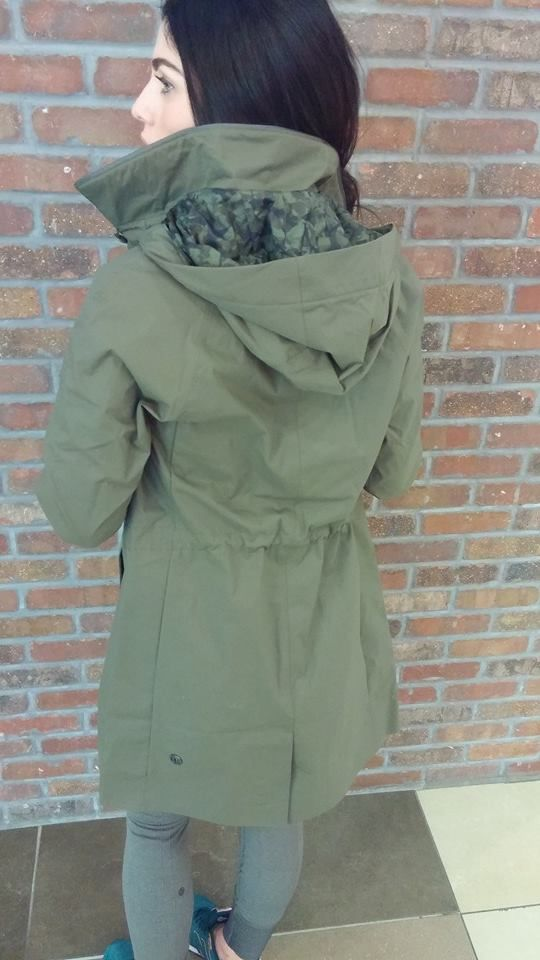 lululemon rain on jacket