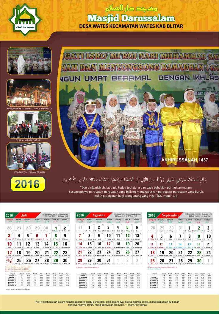 Kalender masjid