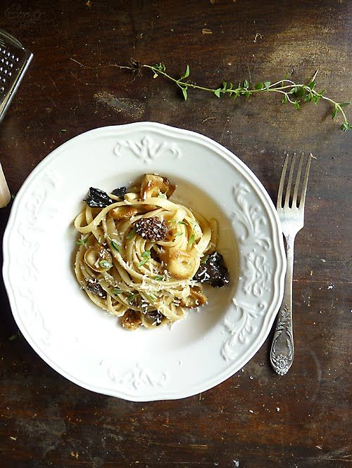 Pasta with Morel Sauce