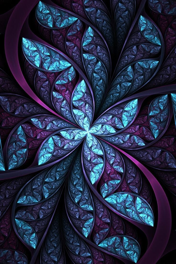 Color and art - Find This Pin And More On Mandalas Fractal Patterns Of Color Art