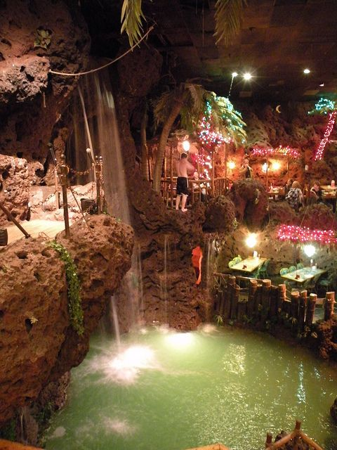 I love this place. Casa Bonita restaurant. Nothing like it ...