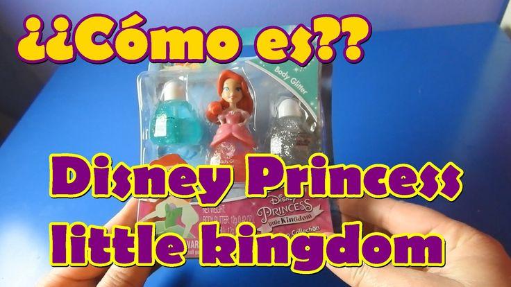 Revisión juguete Disney Princess little kingdom-Colección maquillaje Ariel