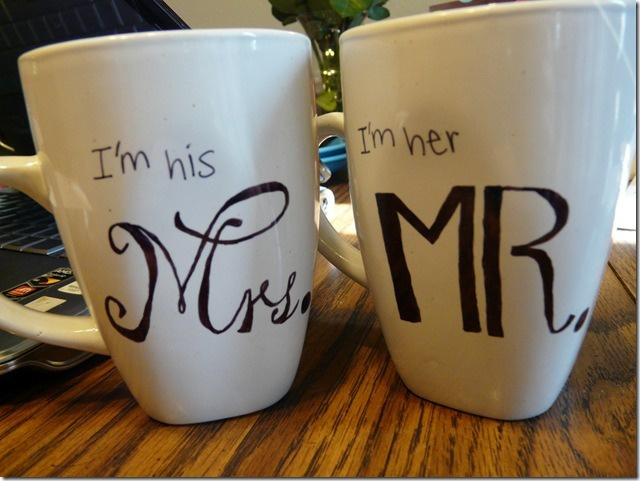 His and Hers DIY Coffee Mugs | Wonderfully Made Pursuits