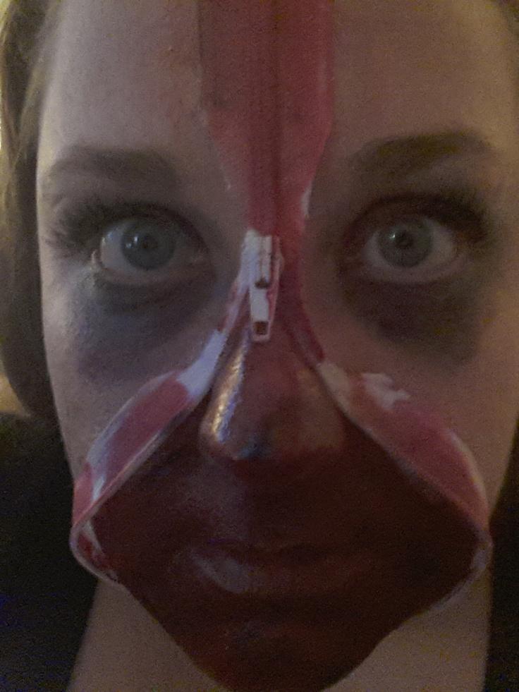 Best 25+ Zip face ideas on Pinterest - Applying Halloween Makeup
