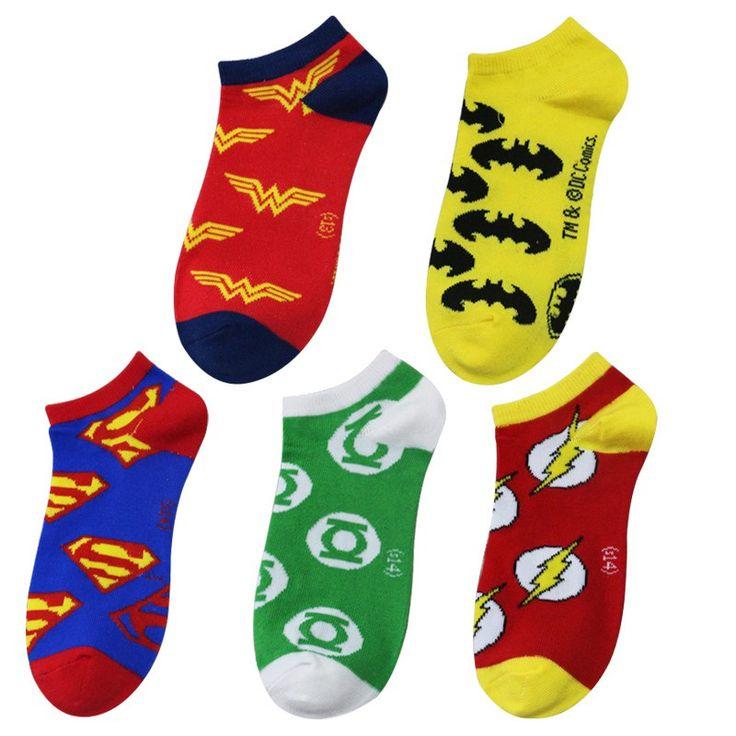 Superheroes Theme Short Socks //Price: $8.99 & FREE Shipping //     #realmofsuperheroes