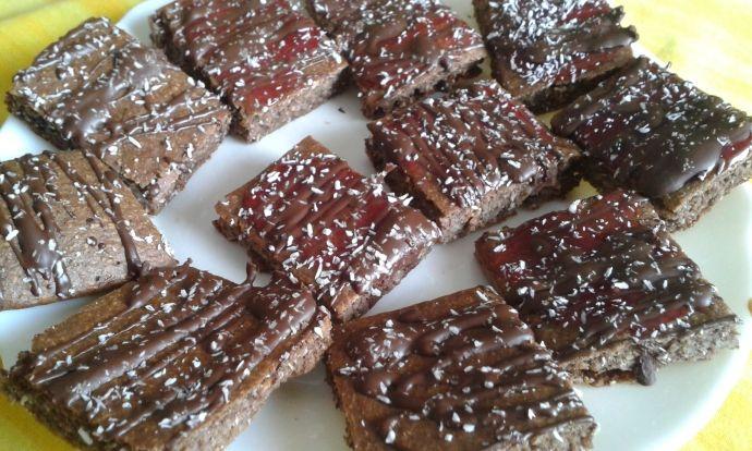 Proteinový koláčik