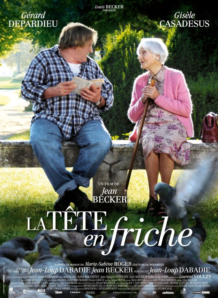 """La Tête en friche - Jean Becker 2010 - DVD07396 -- """"Maraîcher inculte & naïf, Germain est la risée de ses amis & la honte de sa mère. Sa vie routinière connaît toutefois un tournant décisif le jour où, Germain fait la connaissance de Marguerite, une retraitée de 95 ans. Au contact de cette dame cultivée qui prend plaisir à lui lire des romans complets, le maraîcher enrichit de jour en jour son vocabulaire..."""""""