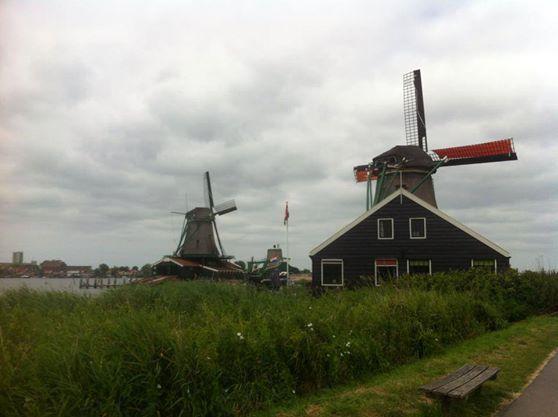 Los molinos de Amsterdam