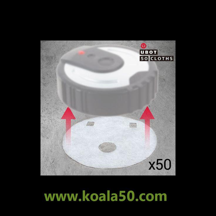 Recambios Mopa UBOT - 2,70 €   Si ya conoces nuestro sensacional robot mopa UBOT, ¡ahora también puedes conseguir fácilmentelos recambios mopa UBOT! Unos estupendos paños limpiadores para colocar en tu robot limpiador UBOT....  http://www.koala50.com/otros-productos-de-limpieza/recambios-mopa-ubot