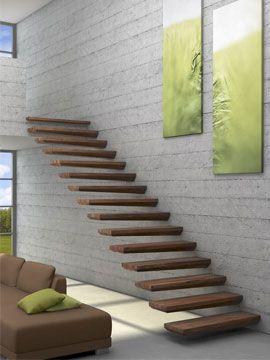 Fabriquant d'escalier contemporain, escalier moderne sur la Bretagne.