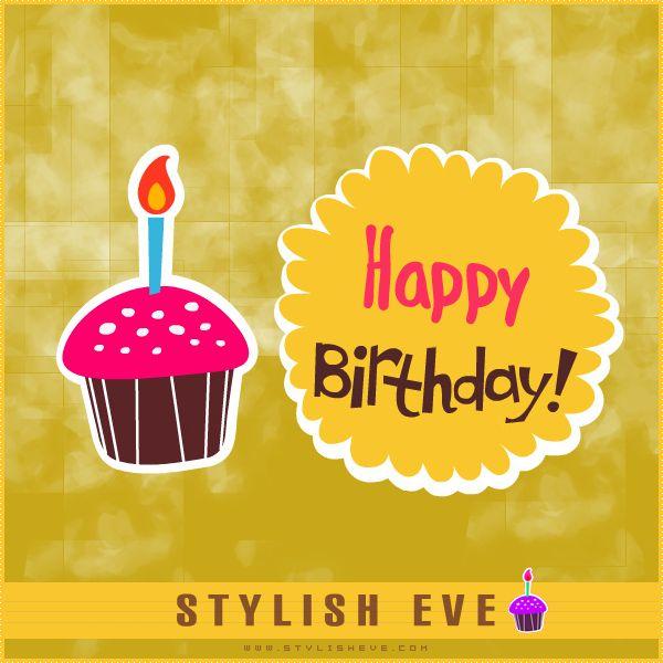 Stylish Eve Design Inspirations: Stylish and Cute Happy Birthday Cards