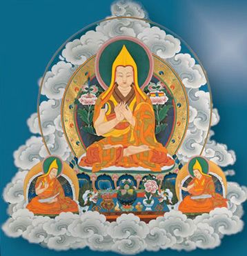 Impermanent as a water bubble ~ Lama Tsongkhapa http://justdharma.com/s/r79w8  This life is as impermanent as a water bubble;  Remember how quickly it decays and death comes.  After death, just like a shadow follows the body,  The results of negative and positive karma ensue.  – Lama Tsongkhapa  Foundation of All Good Qualities  source: http://www.lamayeshe.com/article/commentary-foundation-all-good-qualities