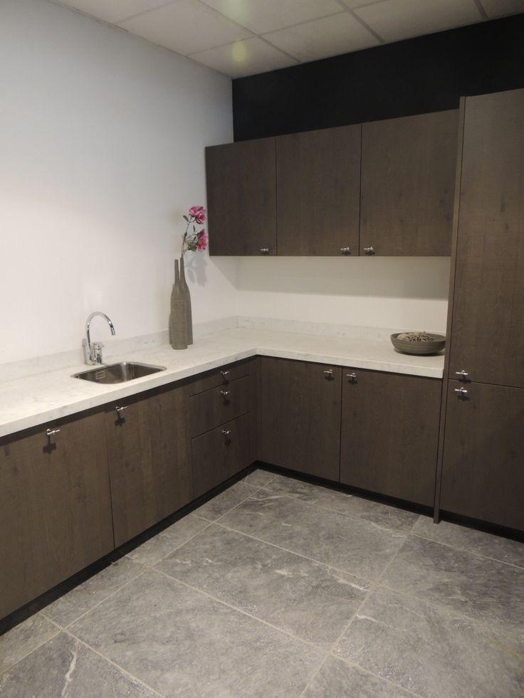 Keuken Fineer Hout : Keuken Opstellingen op Pinterest – Keukens, L-vormige Keuken en