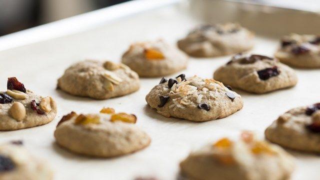 Biscuits congelés (dans des bacs à glaçons)- Cuisine futée