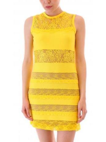 Aniye By - Annette sheath dress in yellow
