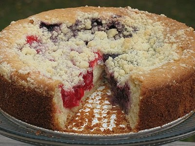 Cherry Cream Cheese Coffee Cake - looks so delish