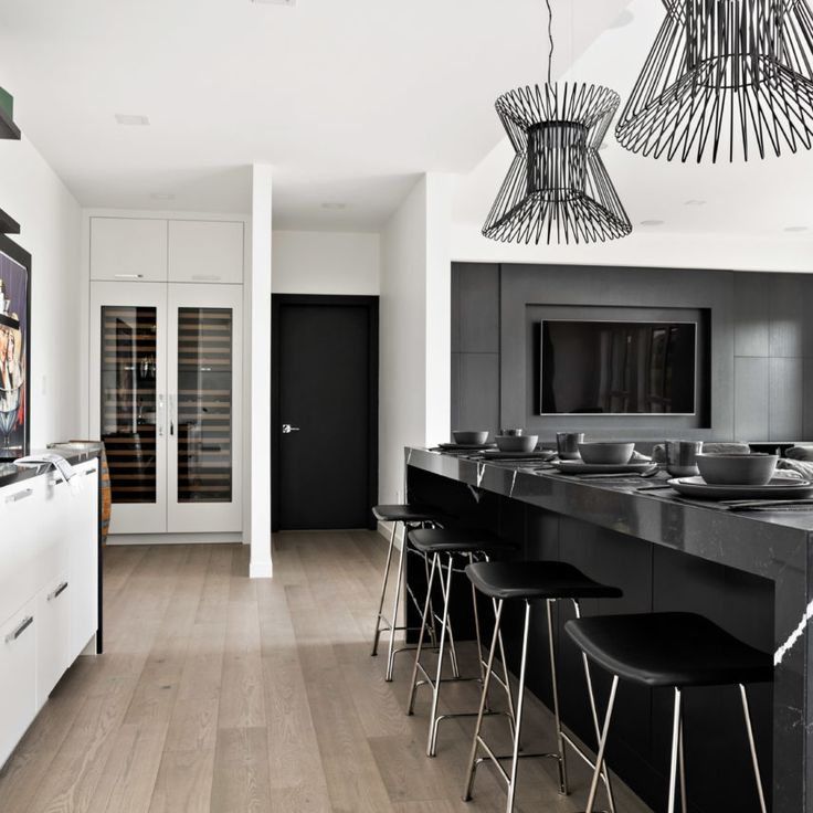 Basement Interior Design: Creekside- Interior Design Portfolio, Winnipeg. Modern