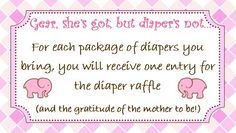 Baby Shower Diaper Raffle Poem   shower baby gift diapers raffle poems baby 2014 baby aubree raffle ...