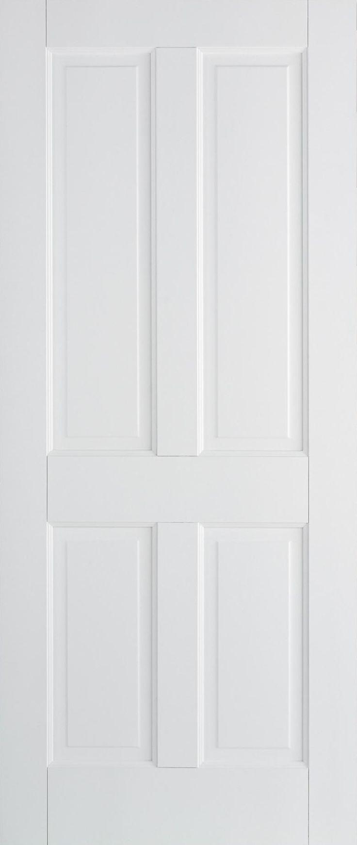 Canterbury Traditional 4 Panel White Interior Door by LPD