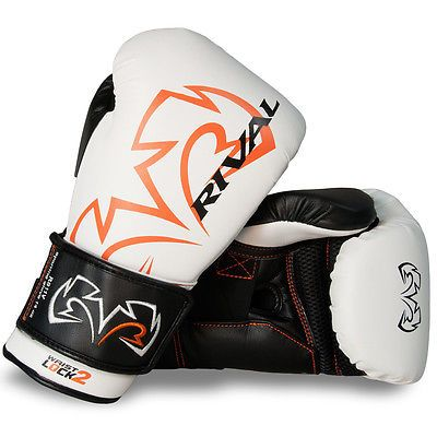 Gloves - Boxing 30102: Rival Boxing Evolution Hook And Loop Sparring Gloves - 16 Oz. - White BUY IT NOW ONLY: $129.99