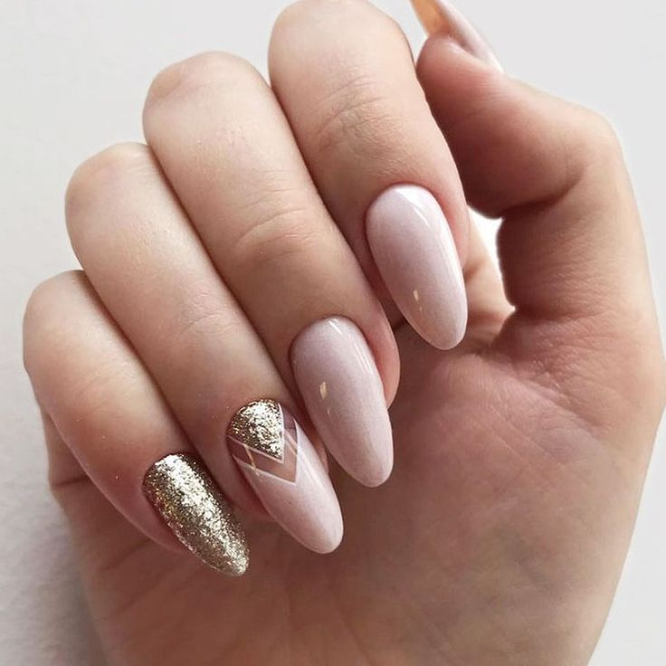 38 Beautiful Triangle Nail Art Designs