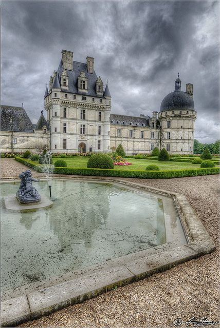 Chateau de Cheverny, France.