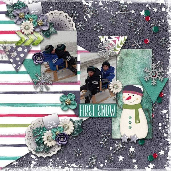 Layout by CTM Debora using {It's Cold Outside} Digital Scrapbooking Collection by Pixelily Designs http://www.gottapixel.net/store/product.php?productid=10023064&cat=&page=1 #digiscrap #digitalscrapbooking #pixelilydesigns #itscoldoutside