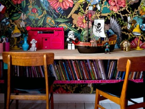 Inspiration: 8 of Sweden's most colourful homes!!