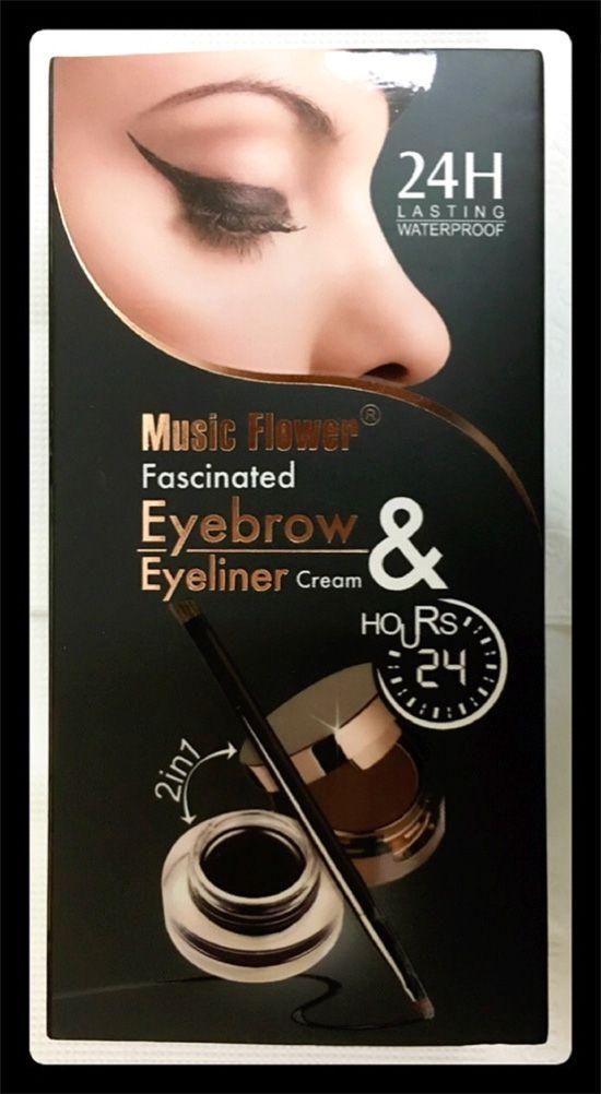 Music Flower Gel Eyeliner Review