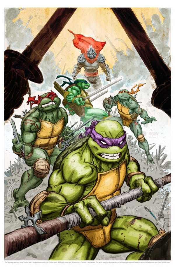 TMNT- In my family it was Michael, Daniel  Matthew with Natalie and Donna - wonderful memories