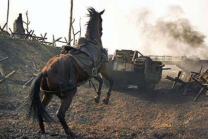 War Horse tank scene one of my favorite parts!