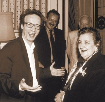 Roberto Benigni e Alda Merini