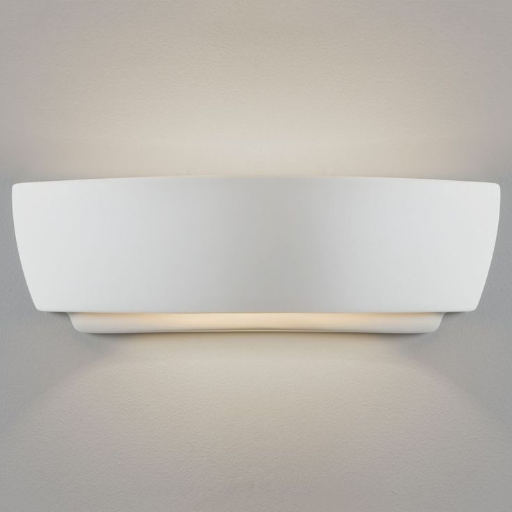 The Kyo Interior Wall Light Is Dimmable And Has A White Ceramic Finish.  Astro 7075