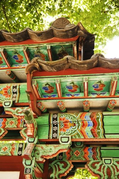Detail of traditional Korean Architecture