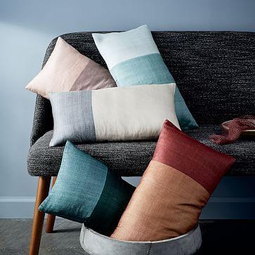Sari Silk Pillow Cover #westelm