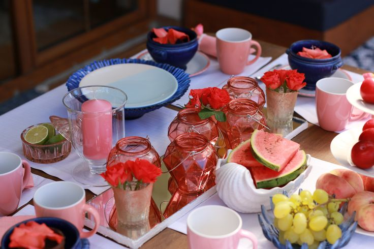table summer decorations ideas