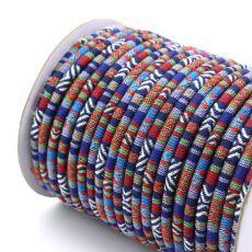 Sznurek bawełniany MASAJKA gran-czerw 6,5mm [0,5metra]