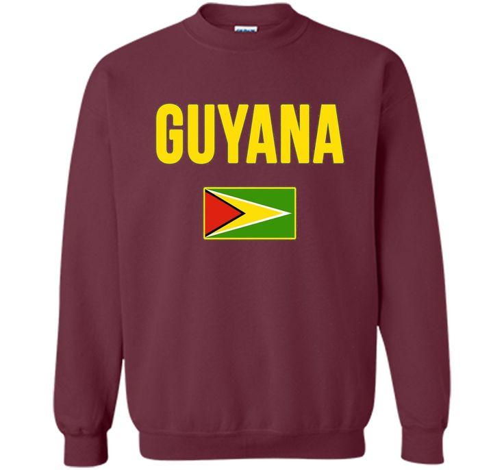 GUYANA T-shirt Guyanese Flag Tee